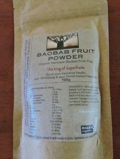 Organic Baobab Fruit Pulp Powder – Nature's Superfood from HALKA B. Organics