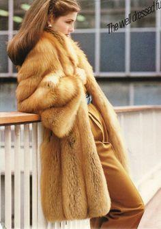 faux fox fur coat - Google Search