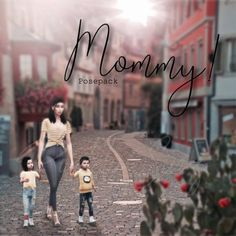 The Sims 4 Mommy posepack by puddin Sims 4 Game Mods, Sims Mods, Sims 4 Mods Clothes, Sims 4 Clothing, Sims 4 Photography, Sims 4 Couple Poses, Sims 4 Family, Sims 4 Cc Folder, Toddler Poses