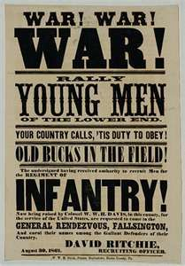 Civil War Posters