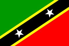 x St Kitts and Nevis Flag Saint Christopher Caribbean Banner National Symbols, National Flag, St Kitts Flag, Caribbean Flags, Saint Christopher, Largest Countries, Flags Of The World, St Kitts And Nevis, Peace And Love