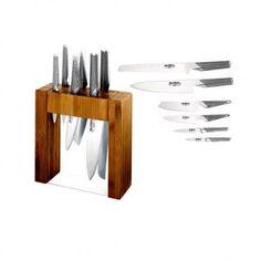 Global Knives Global Knife Block Set, Ikasu 7 Piece