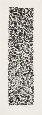 Mark Tobey * Chinese Memories * 1974 *  Lithograph
