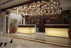 Hotel Reception - Rendering