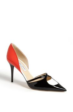 Jimmy Choo 'Lekker Spectator' Pointy Toe Pump