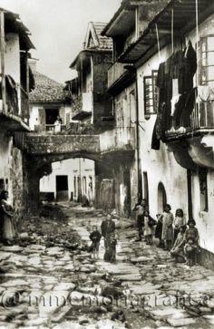 Rúa da Fonte Vella.