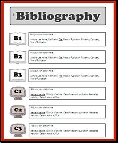 How to write a bibliography for an assignment