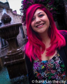 You Only Live Once #TheStrokes #NicePlace #RedHair #PinkHair #InstaPic #Photography #Photo #BeatifulColors #Downtown