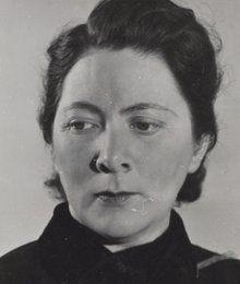 Eva Besnyö (Hungary 1910–2003 Netherlands), portrait of Charley Toorop, Amsterdam 1938.