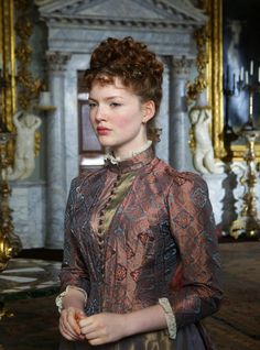 Holliday Grainger as Suzanne Rousset in Bel Ami (2012).