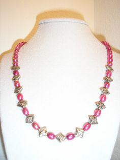 Pretty in Pink Genuine Freshwater pearl by CreationsbyMaryEllen, $15.75