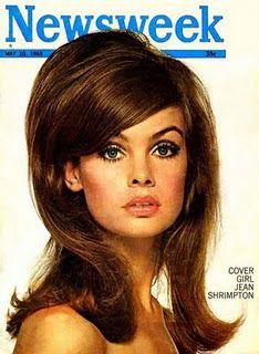Jean Shrimpton hairstyle