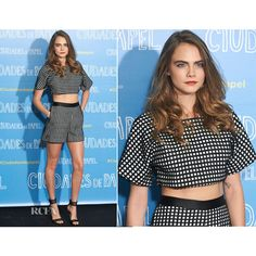 Cara Delevingne In Vatanika - 'Paper Towns' ('Ciudades de Papel')... ❤ liked on Polyvore featuring cara delevingne