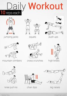 No equipment easy workout…