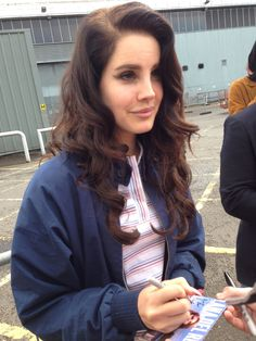 ^_^ Lana Del Rey, Ldr, Brown Hair, Curly Fries, Brooklyn Baby, Dream Boy, Beautiful Wife, Human Nature, Beauty