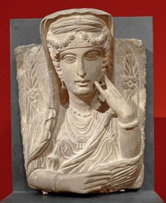 Funerary portrait of a woman from Palmyra (Syria),200–250 A.D.