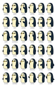 Gunter by Jeff Mitchell (illoguerillo). 11x17 (Tabloid Size) poster, printed on…