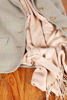 Camel cashmere pashmina- country range  www.hurtleys.com