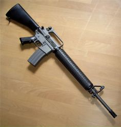 M16 A2 I want a A3 with a heavy barrel a fold grip and a 4times acog with a warn jungle tint