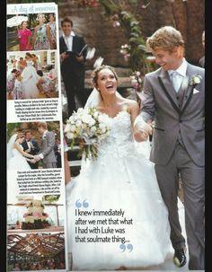 5 Rebecca Breeds Luke Mitchell Home And Away