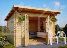 Abri de jardin MALTA 9m² (3x3) 28mm (Chalet)