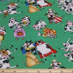 On A Lark Moo Cows 100% Cotton Fabric | eBay Cows, The 100, Cotton Fabric, Ebay, Cotton Textile