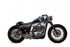 Motocicletta concepita anche per le strade tortuose montane. Dimensioni ridotte, grande maneggevolezza. #stellalpina #sportster #harleydavidson