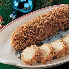 Holiday Pecan Logs Recipe - Homemade!