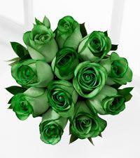 Emerald Green Wedding Bouquets