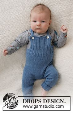 Afternoon Playdate / DROPS Baby - Free knitting patterns by DROPS Design, knitting for babies, Baby Knitting Patterns, Baby Clothes Patterns, Knitting For Kids, Baby Patterns, Free Knitting, Crochet Patterns, Knitting Needles, Designer Baby, Drops Design