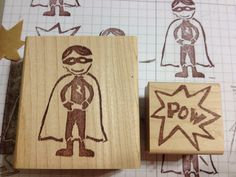 Stampin' Up! Undefined Kit. My Super Hero and Pow