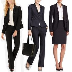 Which are the best brands for women for basic, classic-cut suits -- worthy of use as interview suits and other outfits career-advancing events? We haven't talked about simple women's suits in ages, so I thought we'd discuss. First, some general notes on buying a suit: When constrained by budget: go for a black skirt suit rather than a pants suit, because pants fit is by far the hardest thing to get right. In my experience a $60 skirt suit looks OK but a $60 pants suit makes yo...