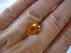 Permata Citrine Madeira Oval Cut 3.39 carat