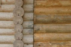 How to Remove Water Stains From Log Walls