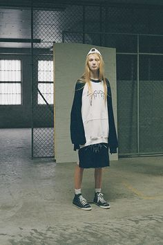 Sasu Kauppi  http://usedmagazine.co.uk/post/633 Graduating from Central Saint Martins' hallowed MA Course can be considered a kiss of career success, a final lip-smacking fling into the annals of high fashion history.