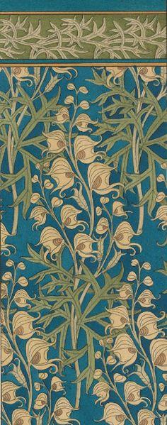 HIstory SciArt. Art Nouveau. Verneuil Art Nouveau Wallpaper, Art Nouveau Design, Decoupage Paper, Something Beautiful, Vintage Flowers, Screen Shot, Print Patterns, Illustration Art, Wallpapers