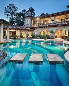 luxury home swimming pools. Exellent Luxury Swimming Pool Idea And Landscaping Design  Interior Of Luxury Homes  Pinterest Landscaping Design Pools House With Home Pools O