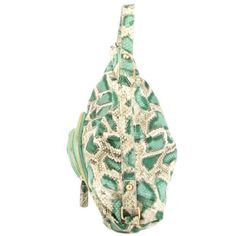 Christian Audigier Holly Snake Hobo Bag - Green  List Price: $160.00 Buy Now: $19.99