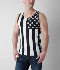 2f1a9ad6ea6dd Brooklyn Cloth America Tank Top - Men s Tank Tops in Black White