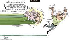 Charge do Dum (Zona do Agrião) sobre a demissão de Givanildo Oliveira como técnico do América (04/06/2016). #Charge #Dum #América #Givanildo #Brasileirão #CampeonatoBrasileiro #HojeEmDia