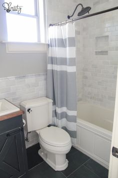 DIY Bathroom Vanity by Shanty2Chic