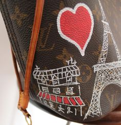 lv customizada paris juliana ali 4 - Juliana e a Moda   Dicas de moda e beleza por Juliana Ali