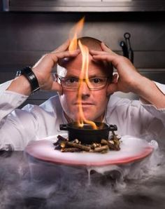 Heston Blumenthal has announced this years Christmas pudding for Waitrose will contain a liquid chocolate center, inspired by a trip the chef took to Italy. Christmas Pudding, Heston Blumenthal Food, Fat Duck Restaurant, Chefs, Melbourne Food, Smoking Recipes, Best Chef, Molecular Gastronomy, Food Inspiration