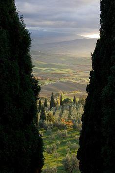 Pienza, province of Siena Tuscany, Italy