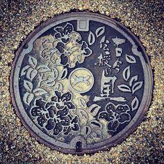 art design | street design | manhole cover | japan | col. 43