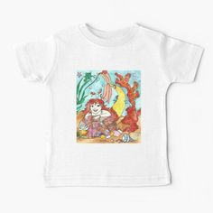 Mermaid Marina Baby T-Shirt