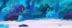 Kat Tsai - Four of my favorite backgrounds that I painted for. Cartoon Network, Jason Song, Steven Universe Background, Dan Norton, Eliot Kid, Kevin Dart, Peter Chan, Scott Robertson, Jim Martin