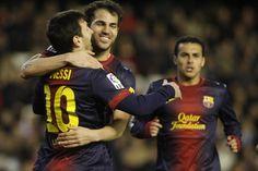 #Cesc felicita a Messi