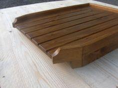 RAISED ANGLED LARGE draining board belfast sink/butler drainer £38