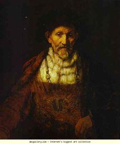 Rembrandt. Portrait of an Old Man. 1651. Oil on canvas. Duke of Devonshire, Chatsworth House, Derbyshire, UK